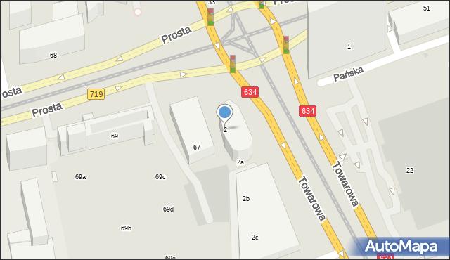 Warszawa, Rondo Daszyńskiego Ignacego, 2, mapa Warszawy