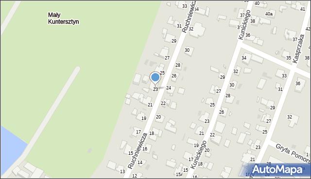 Grudziądz, Ruchniewicza Alojzego, 23, mapa Grudziądza