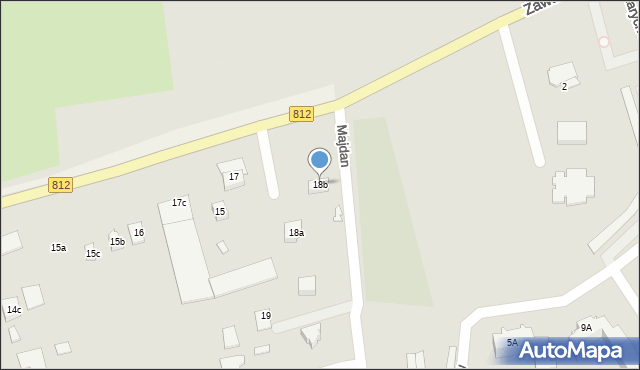 Rudka, Rudka, 18b, mapa Rudka