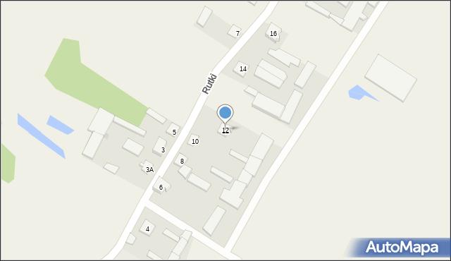 Rutki, Rutki, 12, mapa Rutki