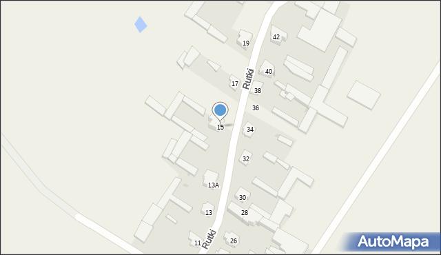 Rutki, Rutki, 15, mapa Rutki