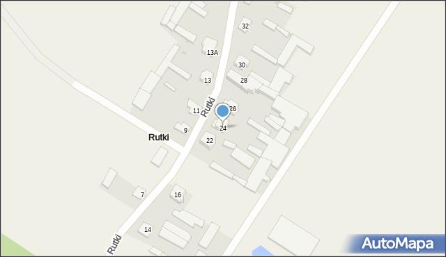 Rutki, Rutki, 24, mapa Rutki