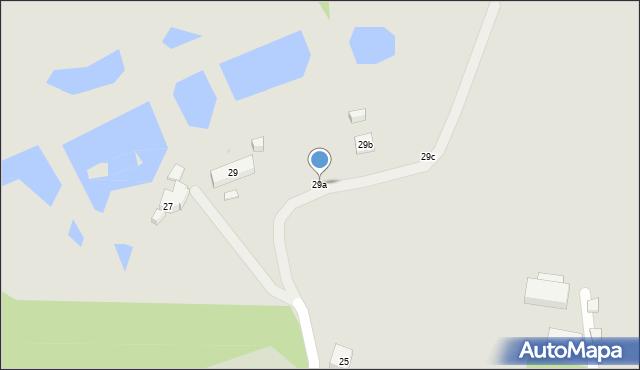 Toruń, Rudacka, 29a, mapa Torunia