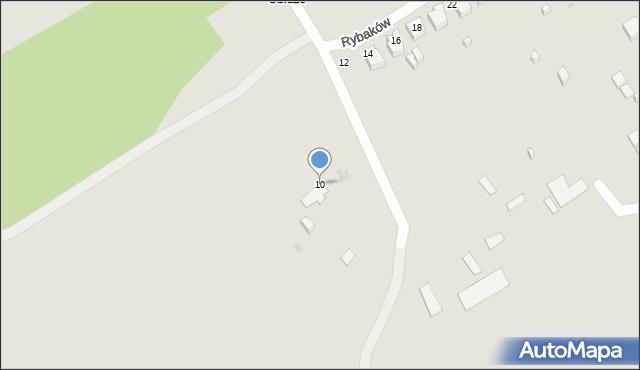 Gdynia, Rybaków, 10, mapa Gdyni