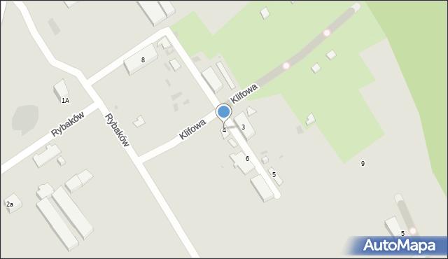 Gdynia, Rybaków, 4, mapa Gdyni