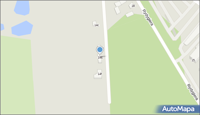 Grudziądz, Rydygiera Ludwika, dr., 14E, mapa Grudziądza
