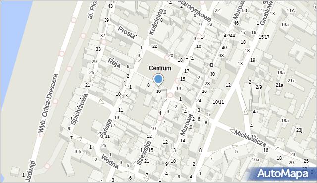Grudziądz, Rynek, 10, mapa Grudziądza