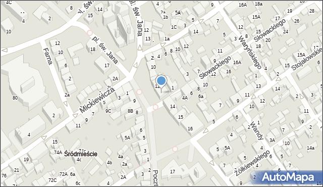 Jaworzno, Rynek Główny, 13, mapa Jaworzno