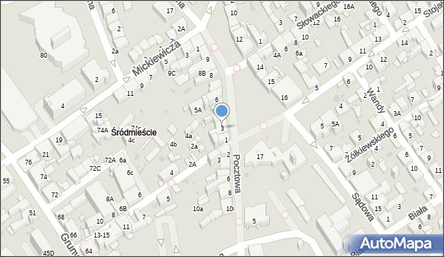 Jaworzno, Rynek Główny, 3, mapa Jaworzno