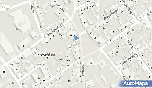 Jaworzno, Rynek Główny, 6, mapa Jaworzno