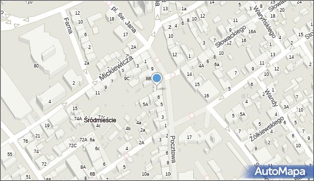Jaworzno, Rynek Główny, 7, mapa Jaworzno