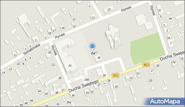 Latowicz, Rynek, 30a, mapa Latowicz