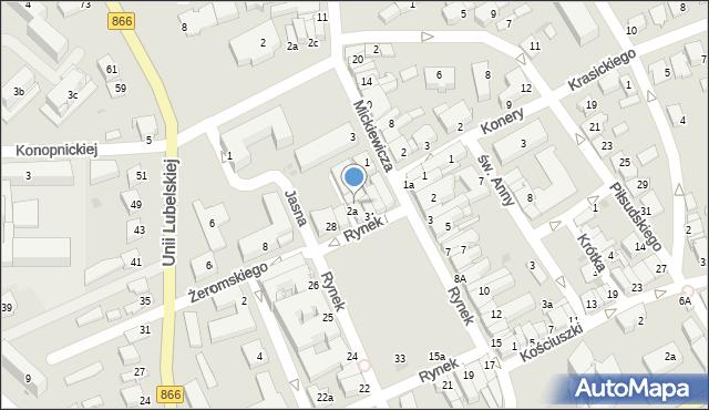 Lubaczów, Rynek, 30, mapa Lubaczów