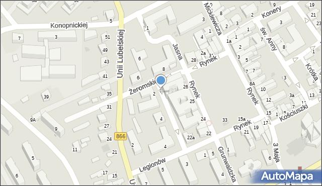 Lubaczów, Rynek, 36, mapa Lubaczów