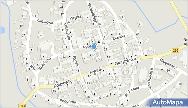 Nowe Miasteczko, Rynek, 3, mapa Nowe Miasteczko