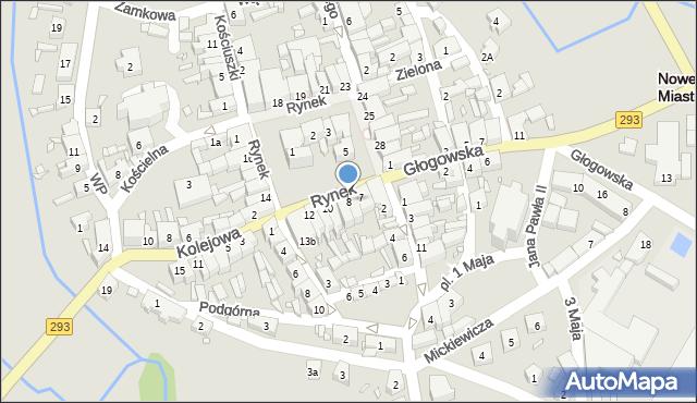 Nowe Miasteczko, Rynek, 8, mapa Nowe Miasteczko
