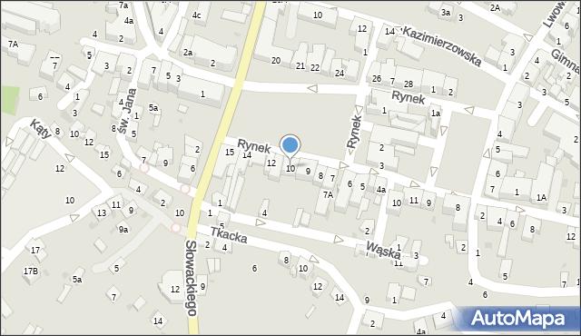 Przeworsk, Rynek, 10, mapa Przeworsk
