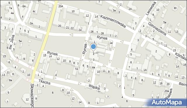Przeworsk, Rynek, 2, mapa Przeworsk
