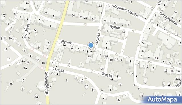 Przeworsk, Rynek, 7, mapa Przeworsk