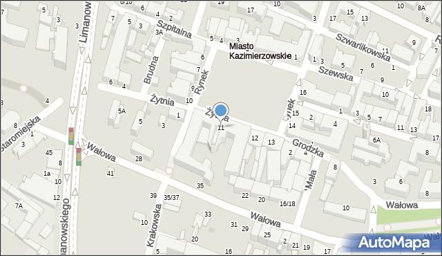 Radom, Rynek, 11, mapa Radomia