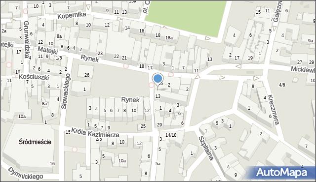 Rzeszów, Rynek, 14, mapa Rzeszów