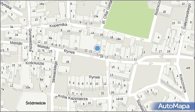 Rzeszów, Rynek, 19, mapa Rzeszów