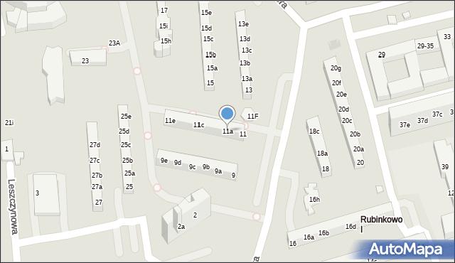 Toruń, Rydygiera Ludwika, 11a, mapa Torunia
