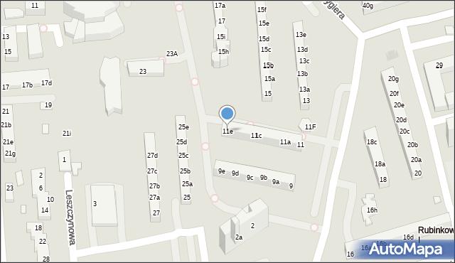 Toruń, Rydygiera Ludwika, 11e, mapa Torunia