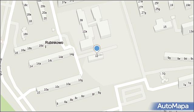 Toruń, Rydygiera Ludwika, 12, mapa Torunia