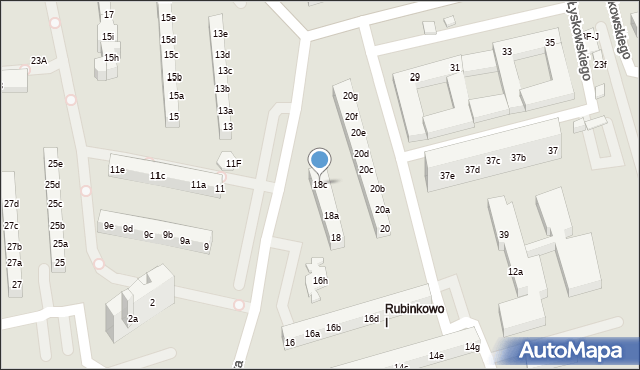 Toruń, Rydygiera Ludwika, 18c, mapa Torunia