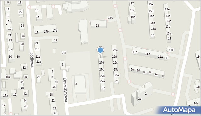 Toruń, Rydygiera Ludwika, 27e, mapa Torunia