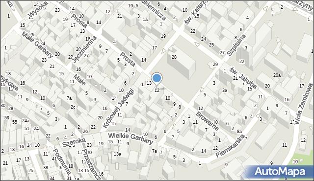 Toruń, Rynek Nowomiejski, 12, mapa Torunia