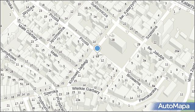Toruń, Rynek Nowomiejski, 13, mapa Torunia