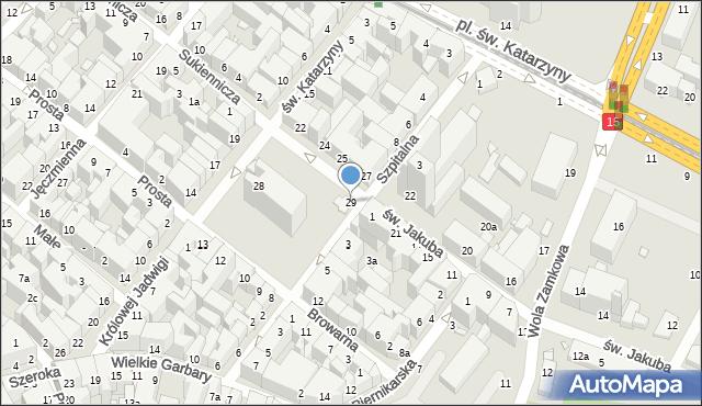 Toruń, Rynek Nowomiejski, 29, mapa Torunia