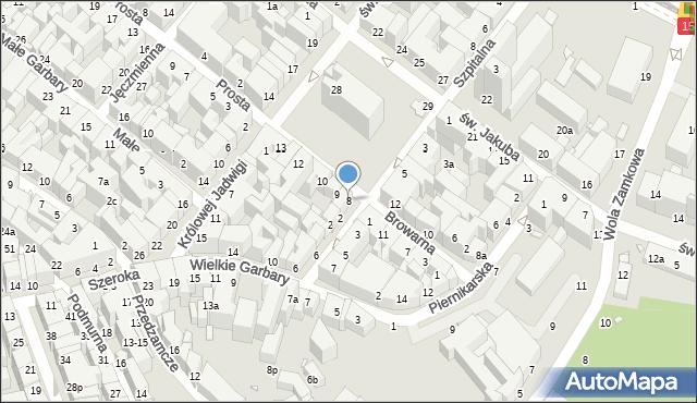 Toruń, Rynek Nowomiejski, 8, mapa Torunia