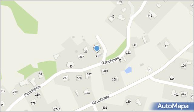 Rzuchowa, Rzuchowa, 41, mapa Rzuchowa