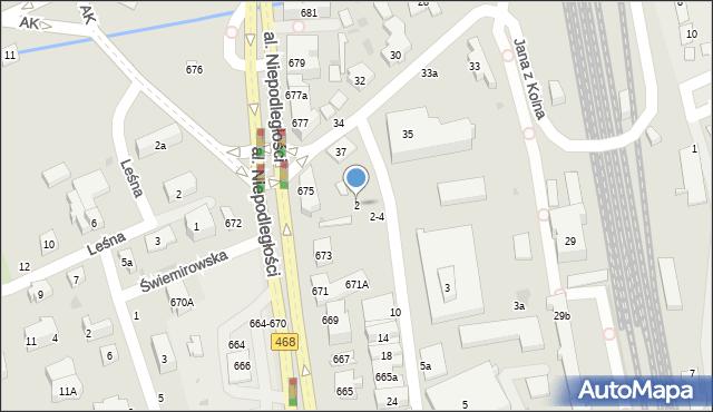 Sopot, Rzemieślnicza, 2, mapa Sopotu