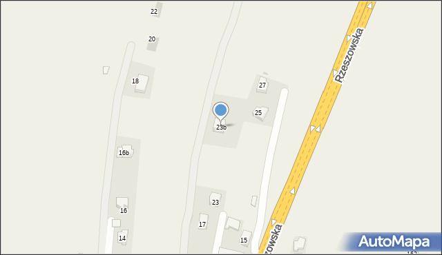 Żurawica, Rzeszowska, 23b, mapa Żurawica
