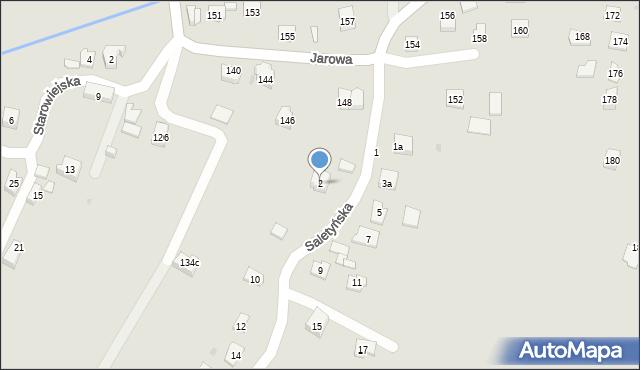 Rzeszów, Saletyńska, 2, mapa Rzeszów