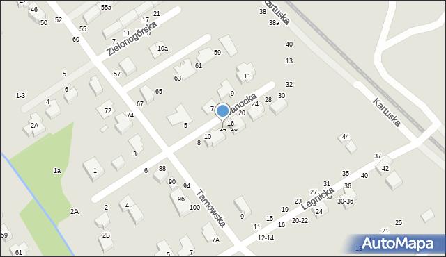 Toruń, Sanocka, 14, mapa Torunia