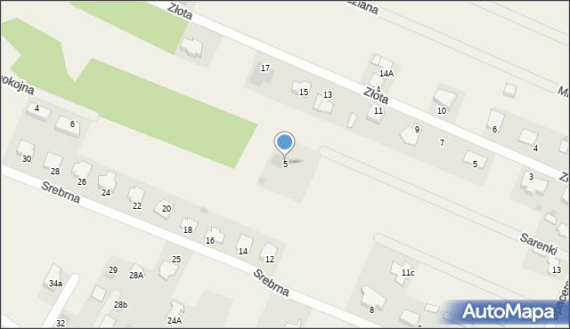 Wacyn, Sarenki, 5, mapa Wacyn