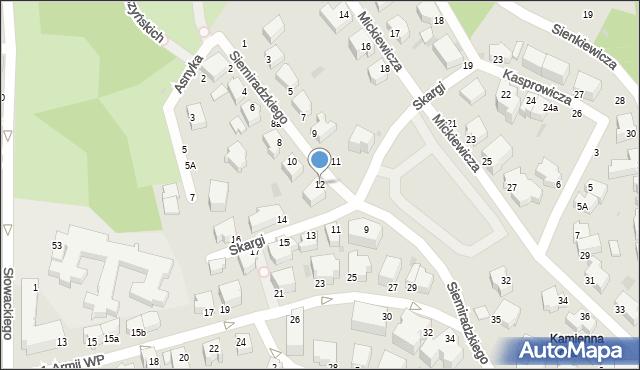 Gdynia, Siemiradzkiego Henryka, 32, mapa Gdyni