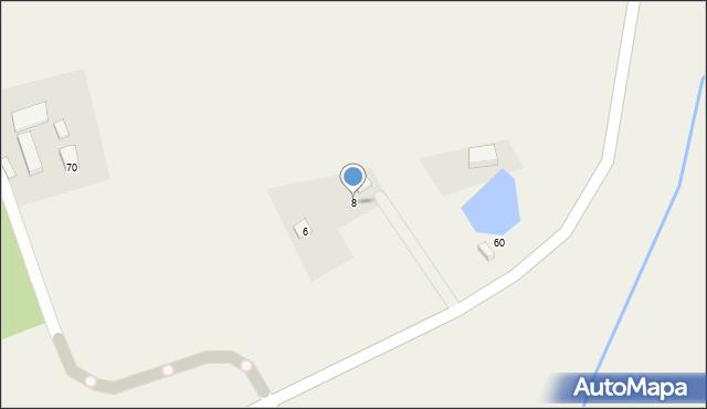 Sychowo, Siedzikówny Danuty, 8, mapa Sychowo