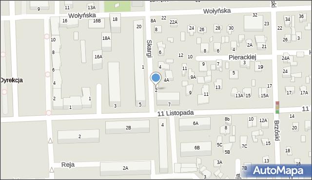 Chełm, Skargi Piotra, ks., 2, mapa Chełma