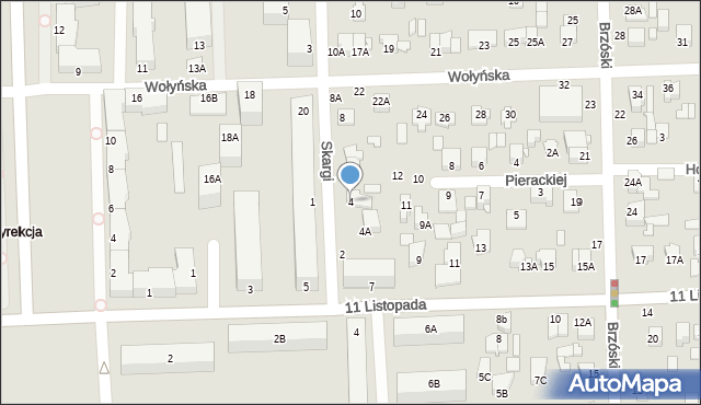 Chełm, Skargi Piotra, ks., 4, mapa Chełma