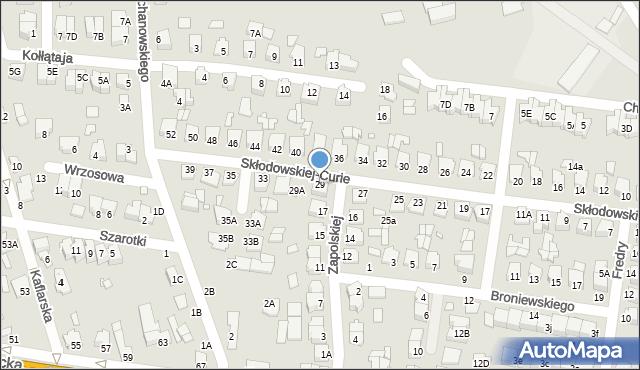 Chełm, Skłodowskiej-Curie Marii, 29, mapa Chełma
