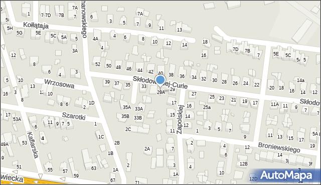 Chełm, Skłodowskiej-Curie Marii, 29A, mapa Chełma