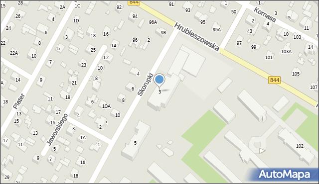 Chełm, Skorupki Ignacego Jana, ks., 3, mapa Chełma