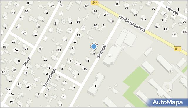 Chełm, Skorupki Ignacego Jana, ks., 6, mapa Chełma