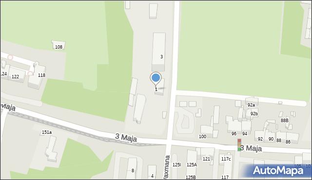 Chorzów, Składowa, 1, mapa Chorzów